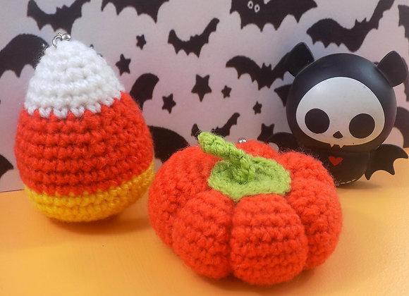 Halloween - Citrouille et Candy corn