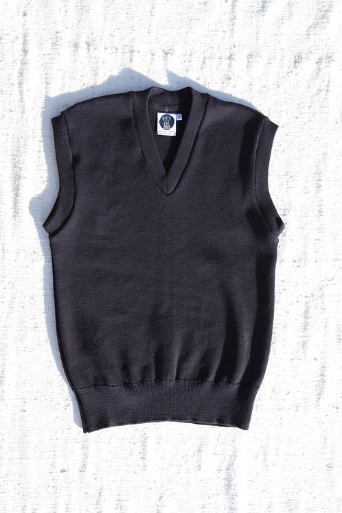 School (v-neck vest)