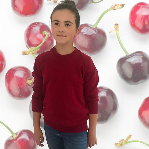 Cherry - crew jumper