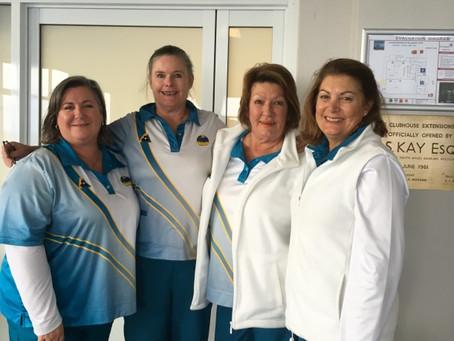 Ladies Club Pairs Winners!
