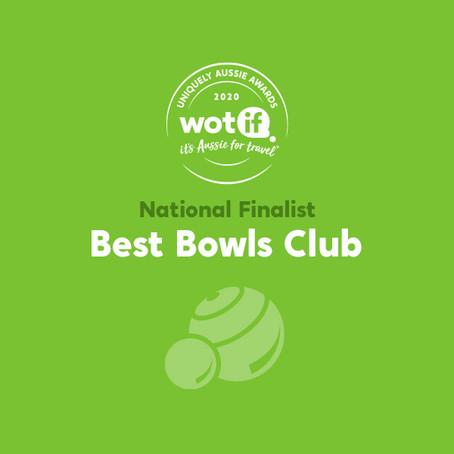 Best Bowls Club in NSW Winner!!!