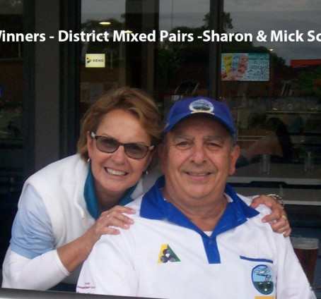2017 District Mixed Pairs Winners