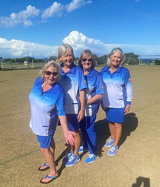 Eastern Suburbs District Womens Open Fours WINNERS!
