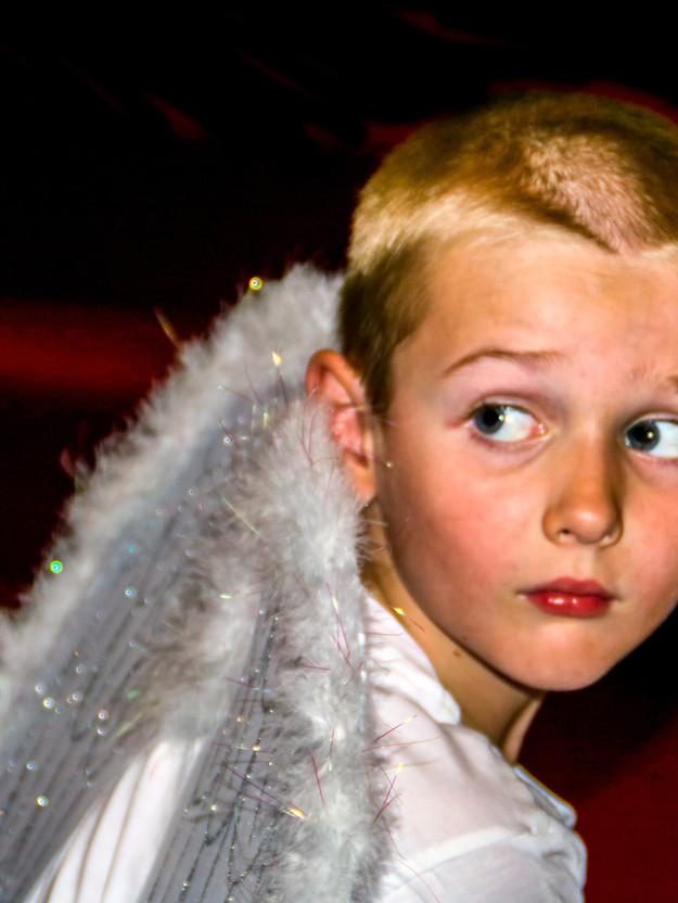 Angel at Christmas
