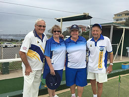 The Girls win the Clovelly Handicap Pairs  2020!
