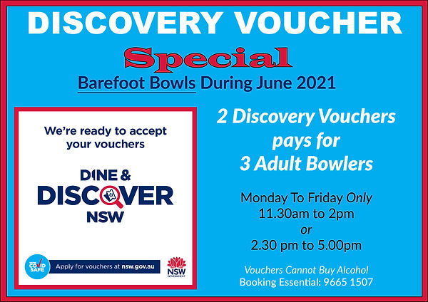 Discovery Voucher Special June 2021 port