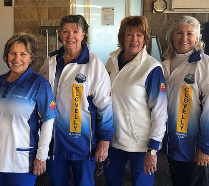 Womens' Club Pairs Champions!