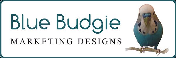 Blue Budgie Marketing Design Logo.tif