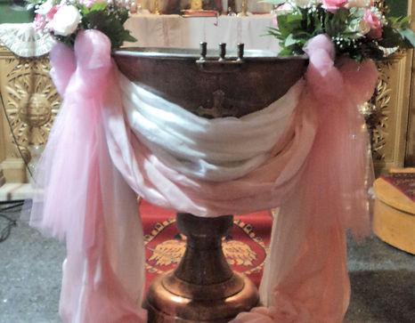 στολισμος βαπτισης