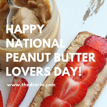 Happy National Peanut Butter Lover's Day