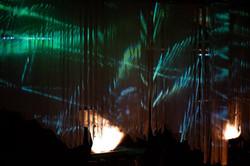 Floating light sculpture - Klangrausch Weimar 04