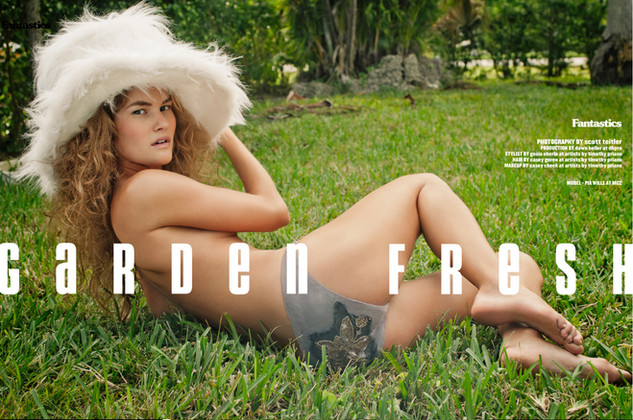 Magazine photoshoot with makeup by Tampa and Orlando makeup artist Casey Cheek