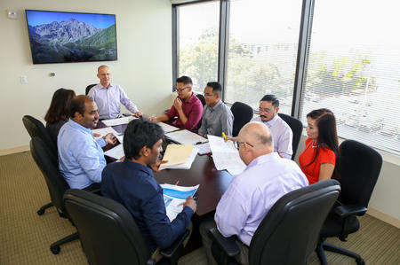 TSE Conference Room Meeting of Engineers