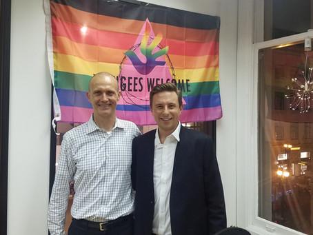 LGBTQ Organization Receives TSE Donation Amid Syrian Refugee Crisis