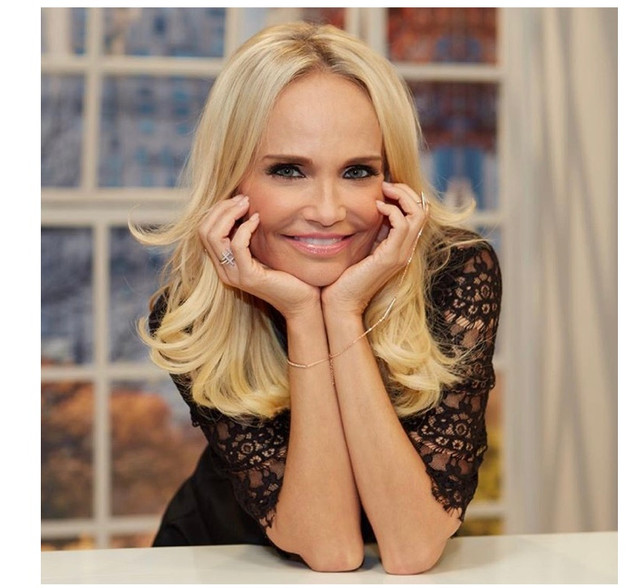 Tampa makeup artist Casey Cheek's client Kristen Chenoweth with makeup and hair by makeup artist in Tampa Florida Casey Cheek