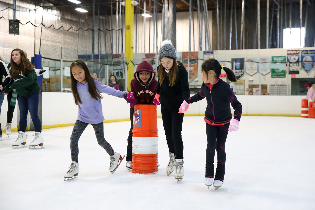 Girls Public Skating at Tri Valley Ice