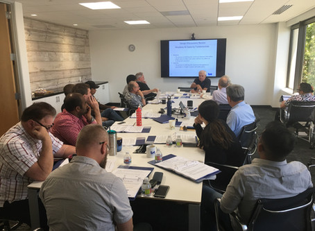 TSE Hosts Train Control Course for Staff, Bay Area Transit Professionals