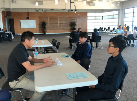 TSE Offers Mentorship to East Bay Students at Career Development Event