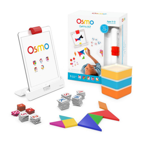 Osmo Numers, Words, Tangram