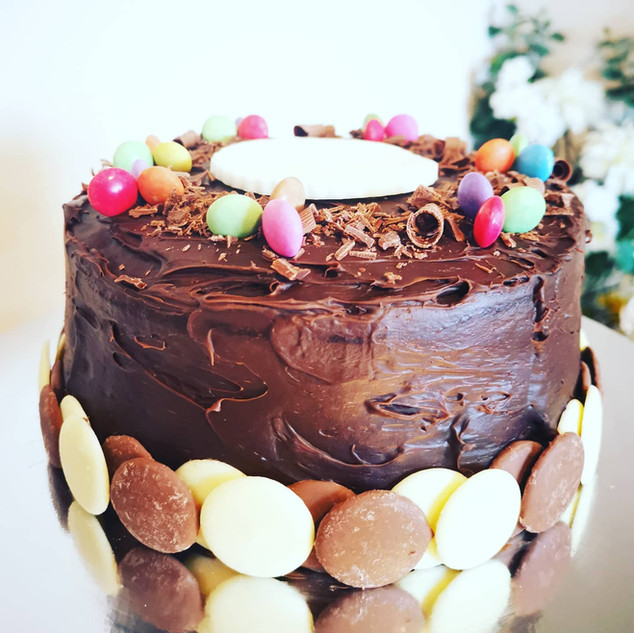 Chocolate Fudge Cake - Birthday cake