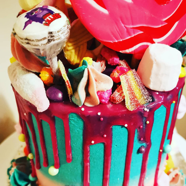 Overload sweet cake