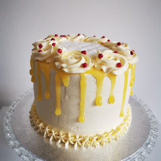 """6"""" Lemon Cake"""