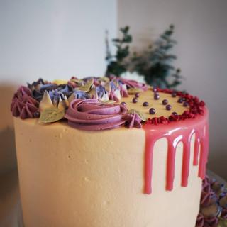 Floral flower cake