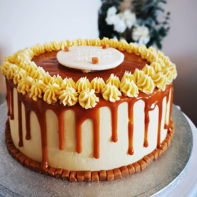 Salted caramel success 😍 Happy 11th Birthday Charlie 🎉