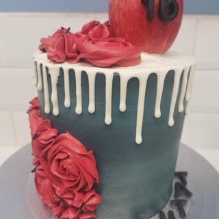 Twilight themed cake