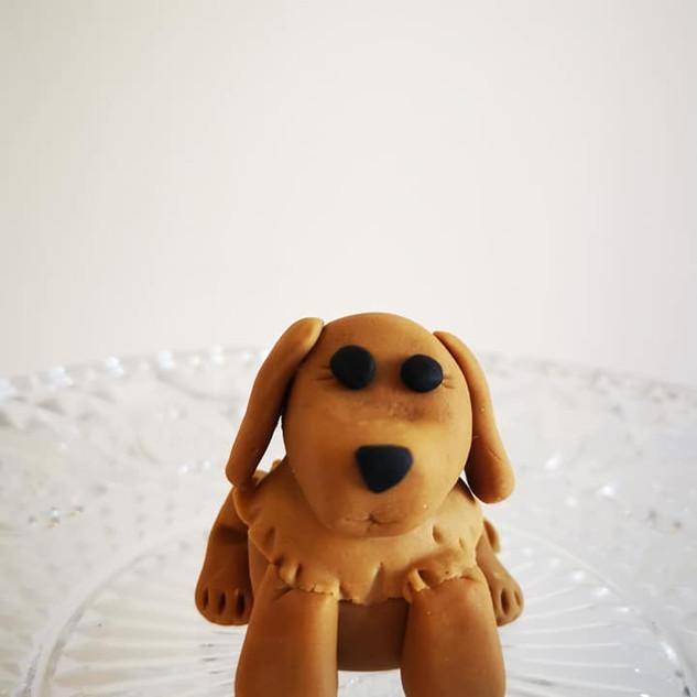 Sugar Paste Doggy