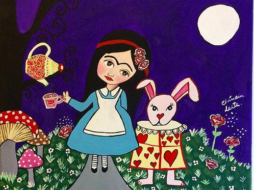 Frida in Wonderland