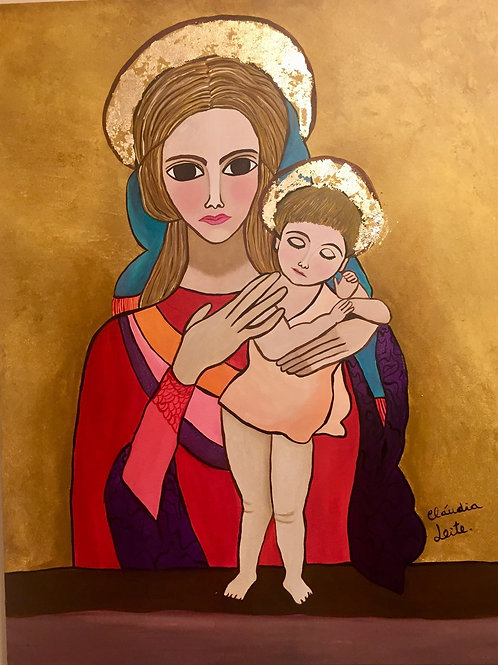Our Lady and the child Jesus
