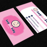 burp that baby - Logo and Business Card