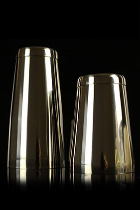 28oz Stainless Steel Tin W/base & Toby Tin