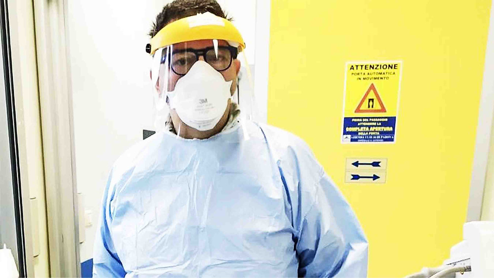 Picture of a doctor in a full medical PPE | What do you do when your fear and anxiety becomes reality? | Balanced Wheel