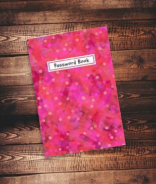 Password book, password tracker