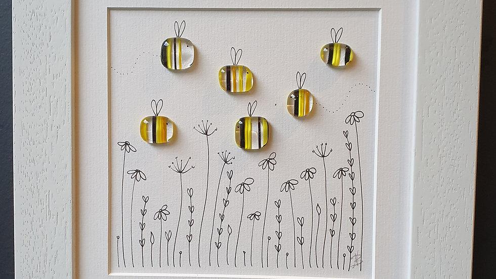 Bee Garden 2 by Niko Brown