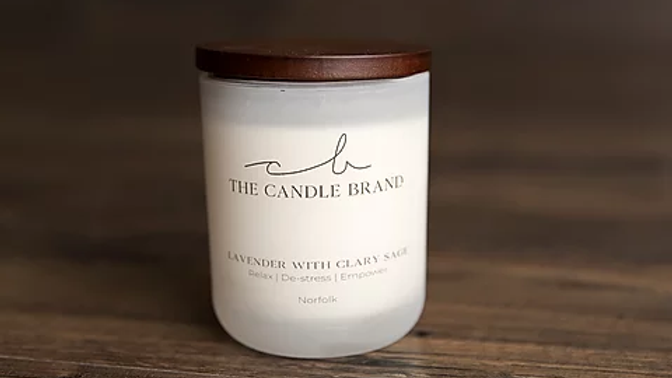 Lavender and Clary sage (35hr) by The Candlebrand