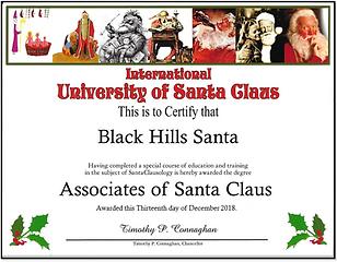Black Hills Santa
