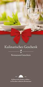 Ein Restaurant Gutschein ist das perfekte kulinarische Geschenk
