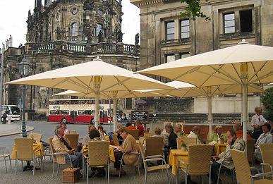 Sächsische Speisen und Gerichte in der Schinkelwache in Dresden