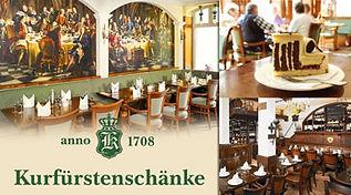 Kurfürstenschänke direkt an der Frauenkirche in Dresden