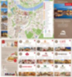 Kulinarischer Stadtplan
