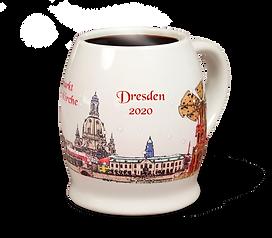Glühweintasse Dresdner Weihnachtsmarkt