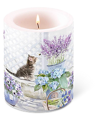 Romantische Kerze