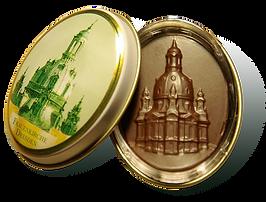 Dresdner Frauenkirche - Schokoladenmedaillon