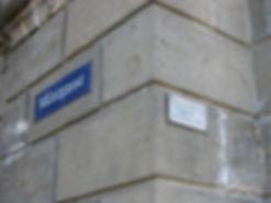 Münzgasse Schild