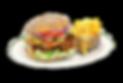 Barbecue-Kalbs-Burger