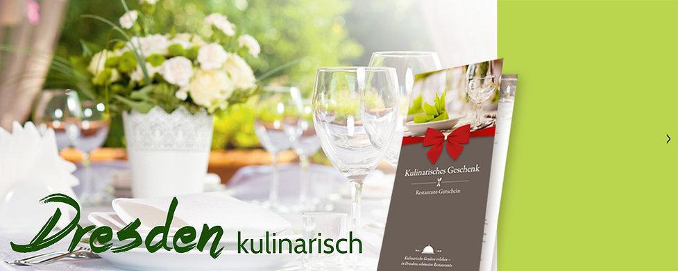 Restaurant Gutschein für Dresdens schönste Restaurants