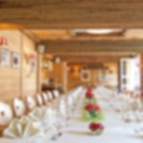 Wir haben die Räumlichkeiten für private Feiern oder Firmenevents